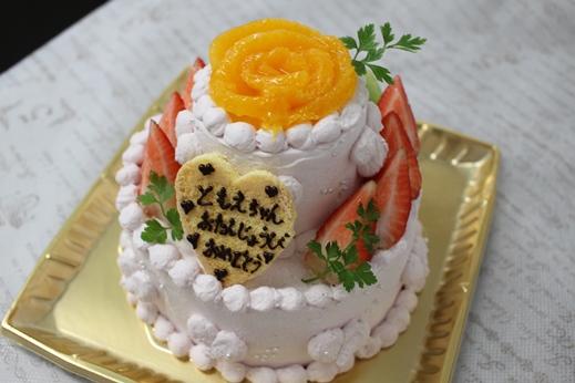 二段のケーキ