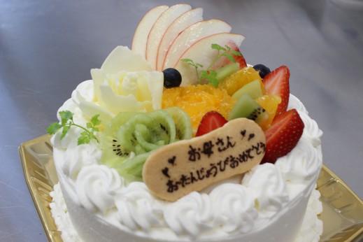 母の日バラケーキ