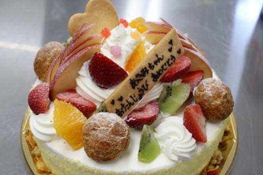 パフェ風ケーキ
