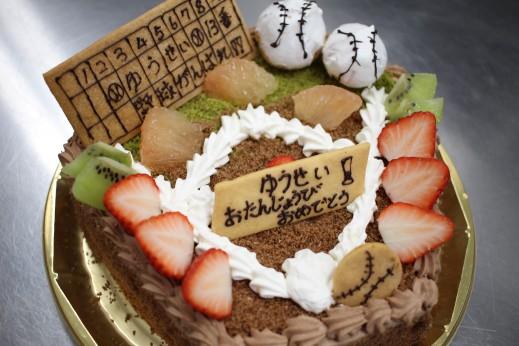 野球型 ケーキ