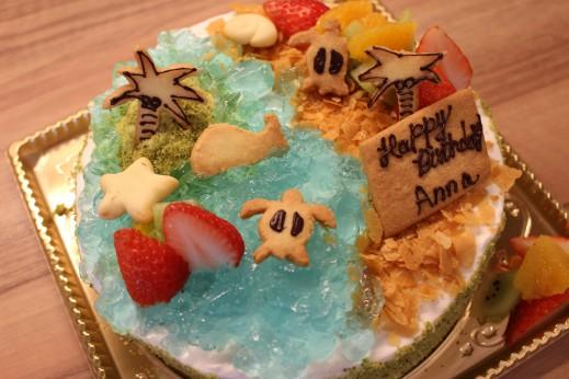 サマーオーシャンケーキ